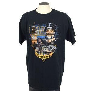 Big Ben Roethlisberger Pittsburgh Steelers T Shirt